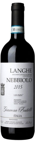 Langhe Nebbiolo Leunin ( Giacosa Fratelli ) 2015