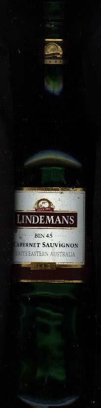 Bin 45 Cabernet Sauvignon ( Lindemans ) 1996