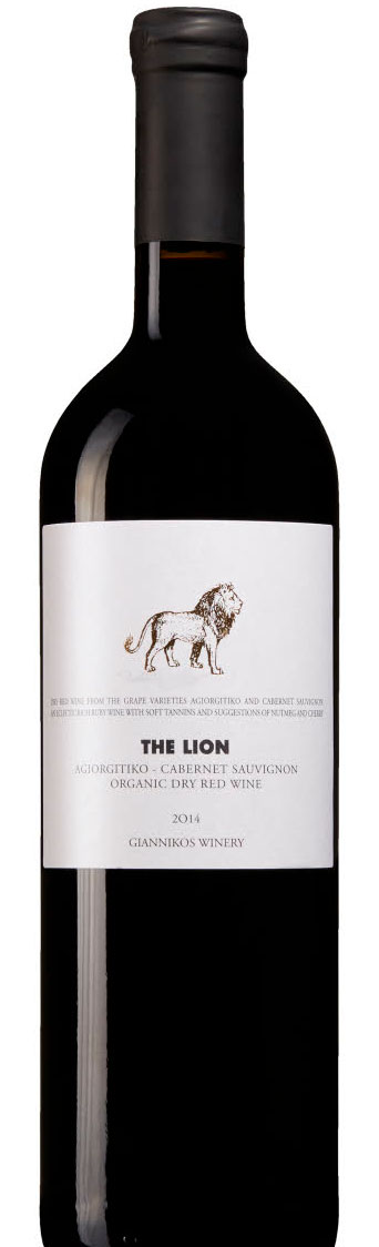 The Lion Organic Agiorgitiko Cabernet Sauvignon ( Giannikos Winery ) 2015