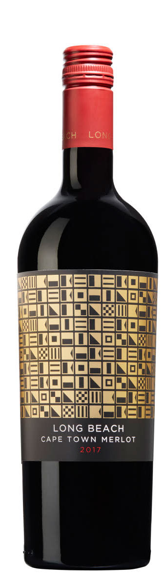 Long Beach Cape Town Merlot ( Leeuwenkuil Family Estate ) 2017