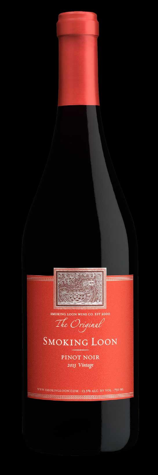 Pinot Noir ( Smoking Loon Wine ) 2011