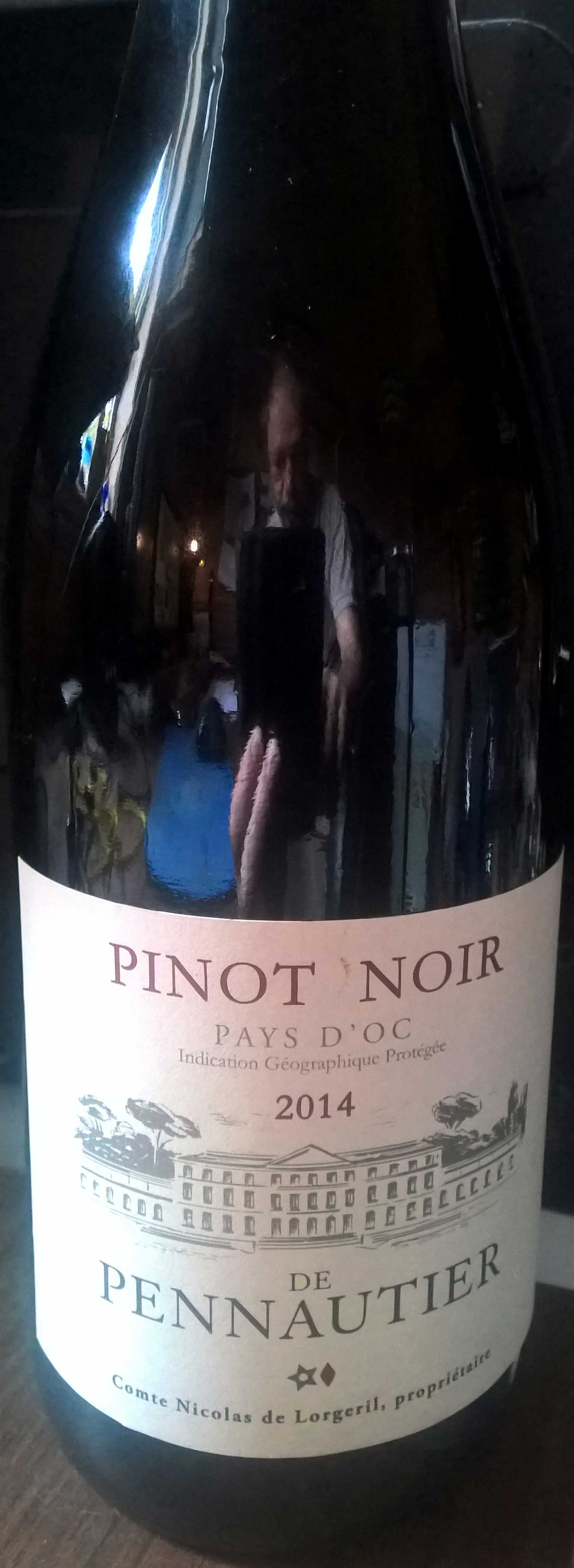 Pinot Noir de Pennautier ( Vign. Lorgeril ) 2013