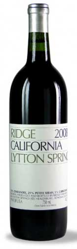 Lytton Springs ( Ridge Vineyards ) 2012