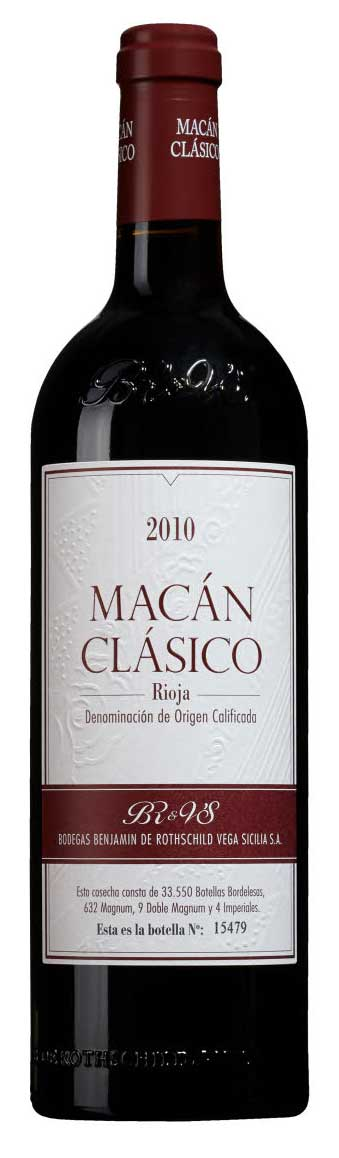 Macán Clásico ( Bodegas Vega Sicilia ) 2010