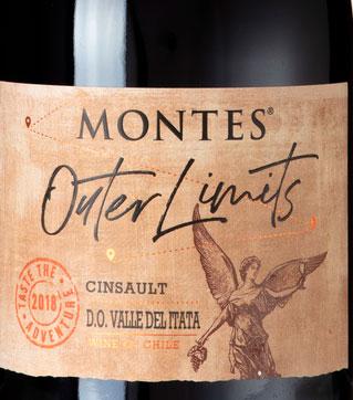 Montes Outer Limits Cinsault ( Montes Alpha ) 2014