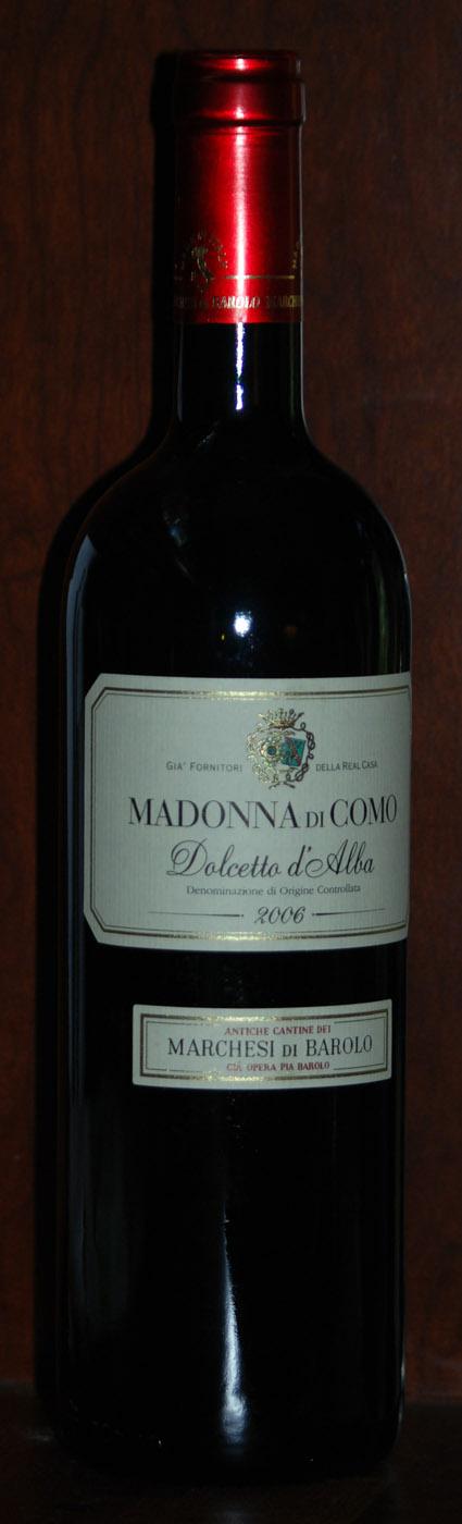 Dolcetto d`Alba Madonna di Como ( Marchesi di Barolo ) 2006