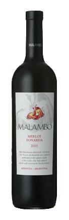 Malambo Merlot Bonarda ( Bodegas Esmeralda ) 2004