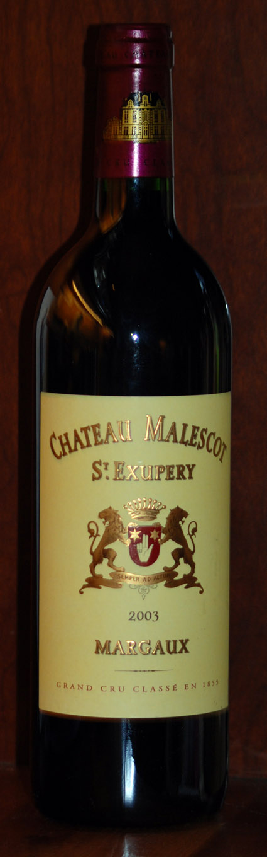 Château Malescot St Exupéry ( Château Malescot ) 2001