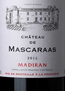 Château de Masceraas ( Vignerons Récoltants du Vic-Bi ) 2015
