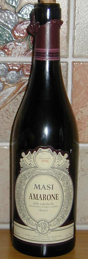 Amarone della Valpolicella Classico ( Masi ) 1996