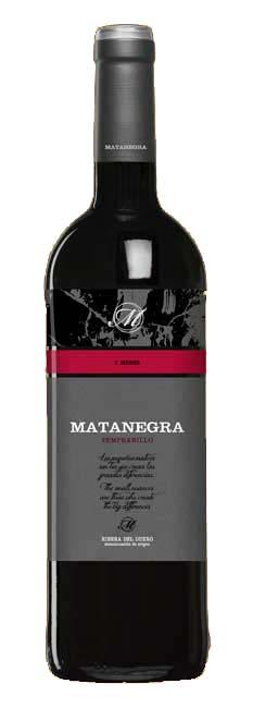 Matanegra media Crianza ( Bodega Pagos Matanegra ) 2012