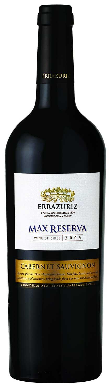Max Reserva  Cabernet Sauvignon ( Errazuriz winery ) 2016