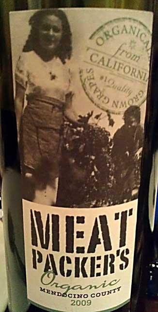 Meat Packers Zinfandel ( Arcus - Norwegian distr. ) 2009