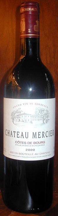 Chateau Mercier ( Côtes de Bourg ) 2004