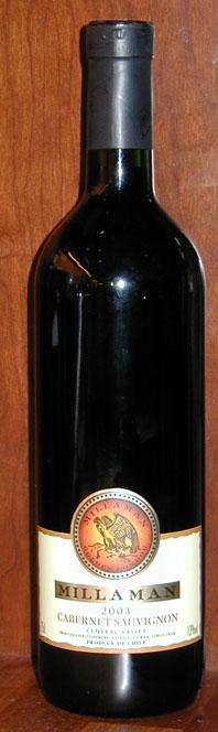Cabernet Sauvignon ( Millaman ) 2003