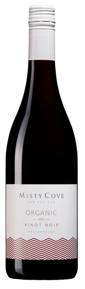 Organic Pinot Noir ( Misty Cove ) 2016