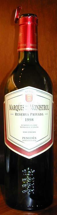 Privada Reserva ( Marqués de Monistrol ) 2001