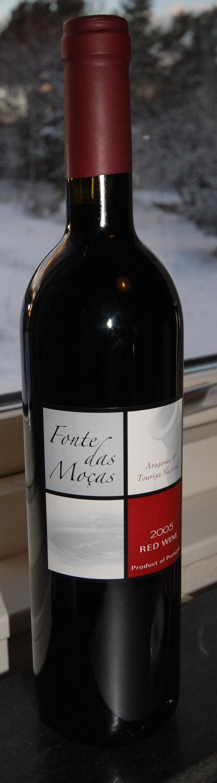 Fonte das Mocas  Aragonês Touriga Nacional ( Agrovitis ) 2005