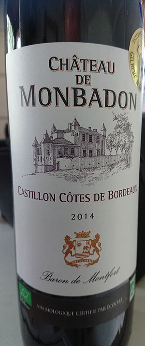 Château de Monbadon ( Baron de Montfort ) 2014