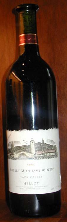 Napa Valley Merlot ( Robert Mondavi Winery ) 1998