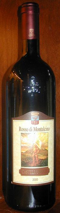 Rosso di Montalcino ( Banfi ) 2000