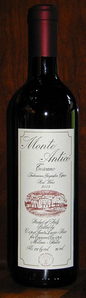 Monte Antico ( Empson ) 2003