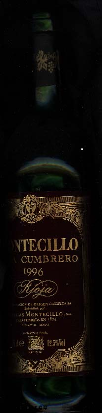 Montecillo Vina Cumbreo Crianza ( Osborne Wines ) 1996