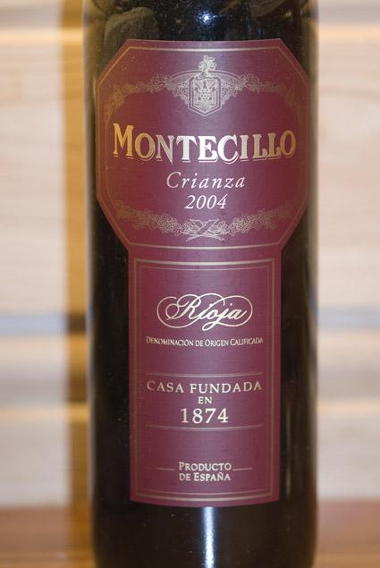 Montecillo Crianza ( Osborne Wines ) 2004