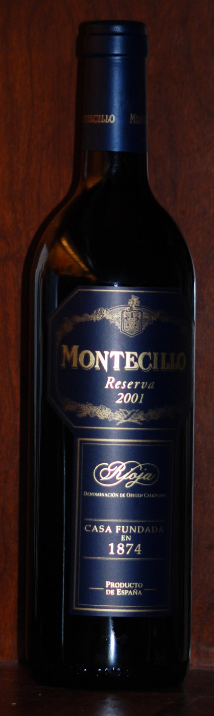 Montecillo Reserva ( Osborne Wines ) 2001