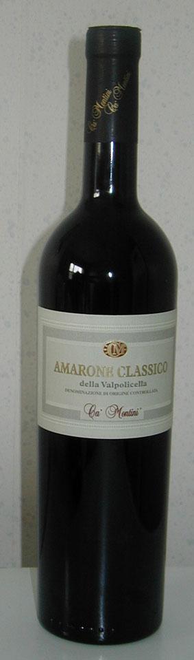 Amarone della Valpolicella Classico ( Ca` Montini ) 2002