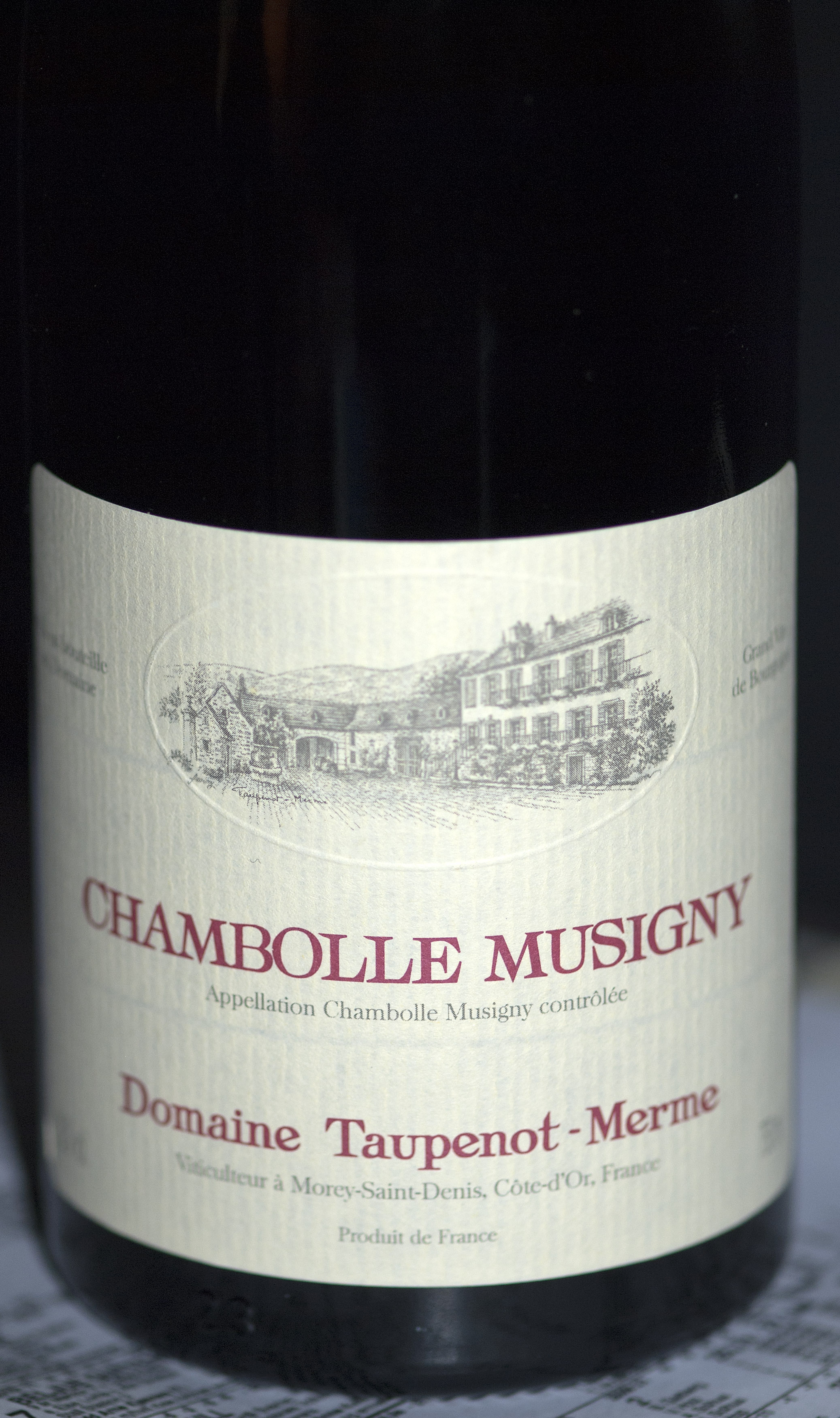 Chambolle Musigny ( Taupenot-Merme ) 2008