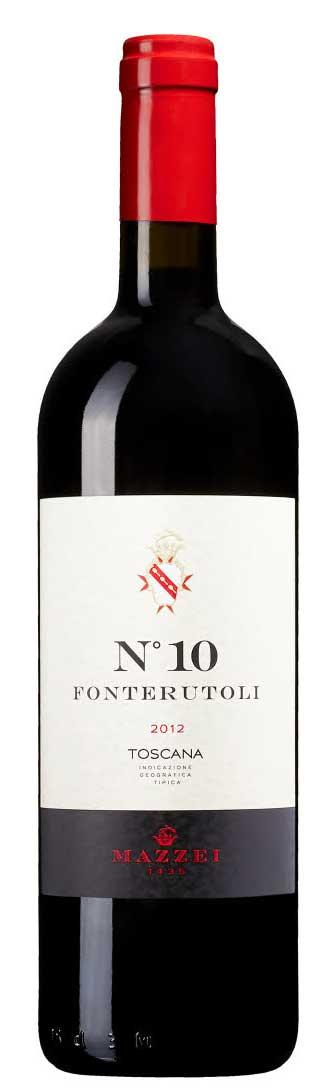Fonterutoli No10 ( Marchesi Mazzei ) 2012