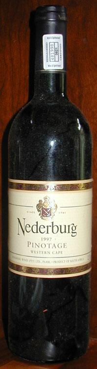 Pinotage ( Nederburg ) 1997