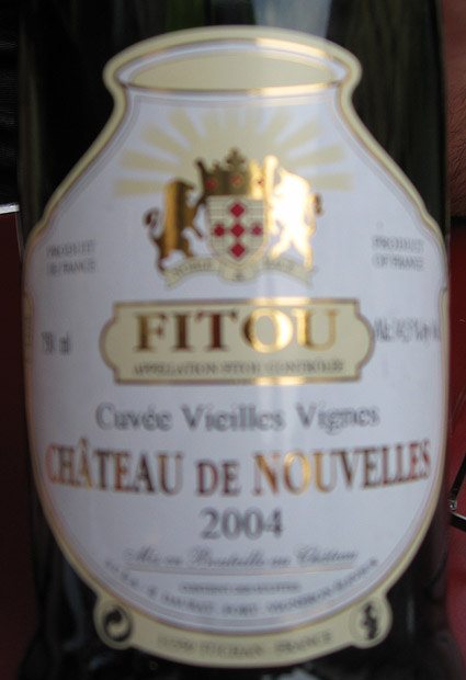 Cuvée Vieilles Vignes ( Château de Nouvelles ) 2004