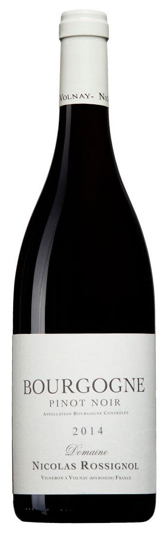 Bourgogne Pinot Noir ( Domaine Nicolas Rossignol ) 2013