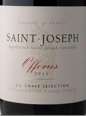 Saint-Joseph Offerus ( Domaine Jean-Louis Chave ) 2011