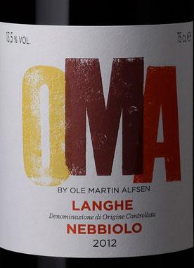 Langhe Nebbiolo OMA ( Giovanni Rosso ) 2012