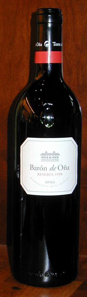 Baron de Oña Reserva ( Baron de Oña ) 1998