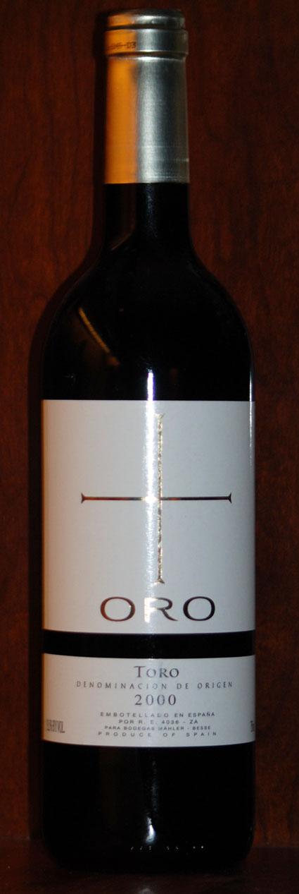 Oro Tinto ( Mähler-Besse Wines ) 2000