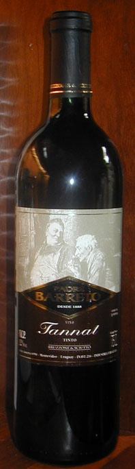 Padre Barreto Tannat ( Bodega Y Viñedo Bruzzone Y Sciuto ) 1998