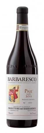 Barbaresco Riserva Pajé ( Produttori del Barbaresco ) 1999