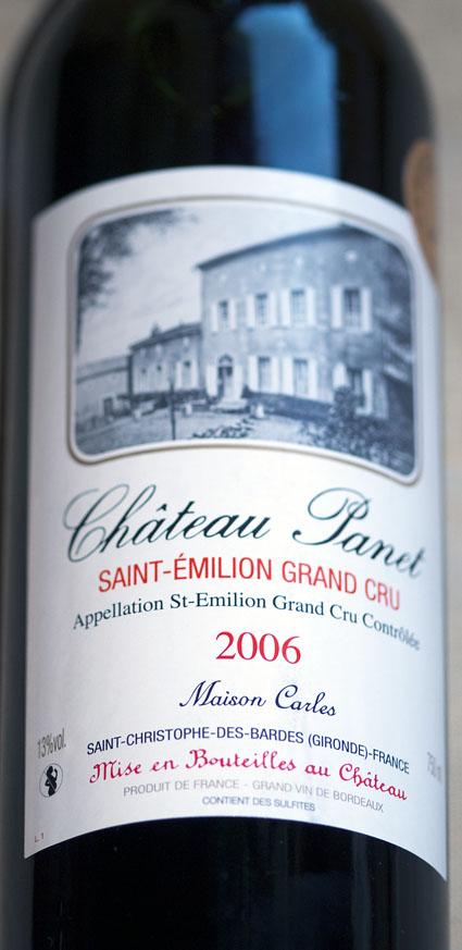 Chateau Panet ( Vignobles Carles ) 2012