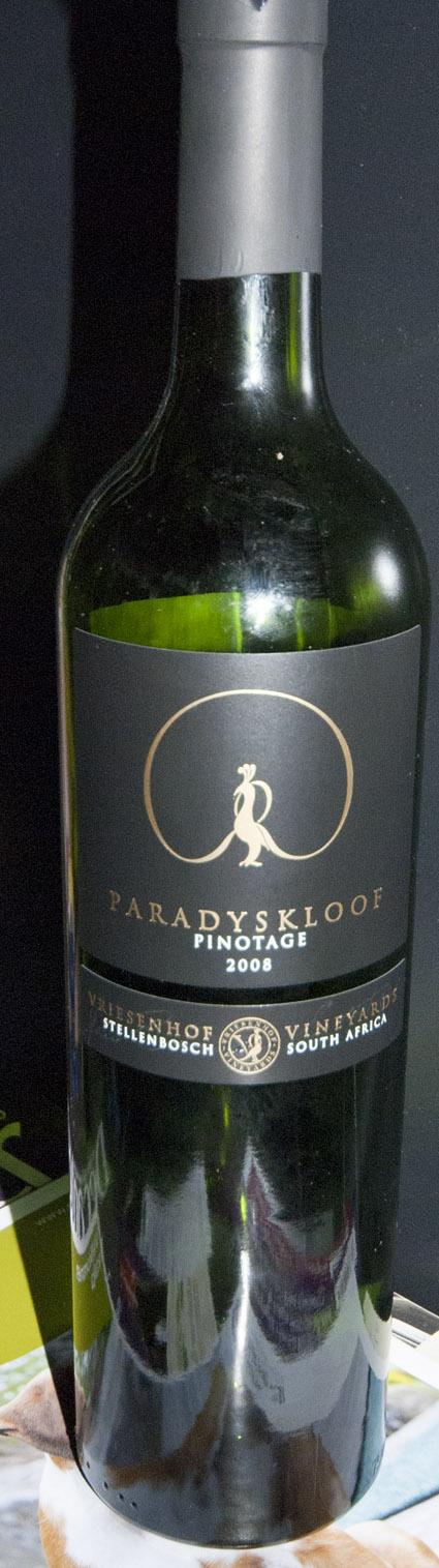 Paradyskloof Pinotage ( Vriesenhof ) 2008