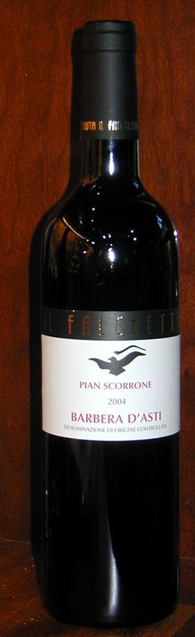 Barbera d`asti Pian Scorrone ( Tenuta Il Falchetto ) 2004