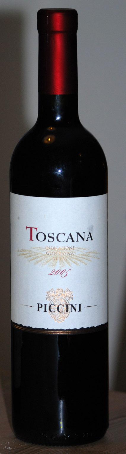 Toscana ( Piccini ) 2009