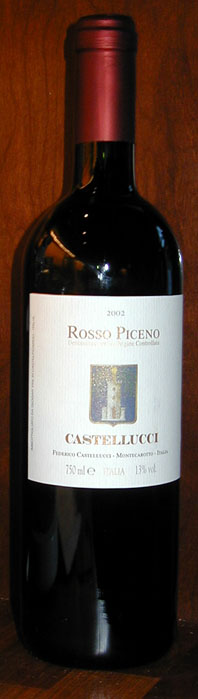 Rosso Piceno ( Castellucci ) 2002