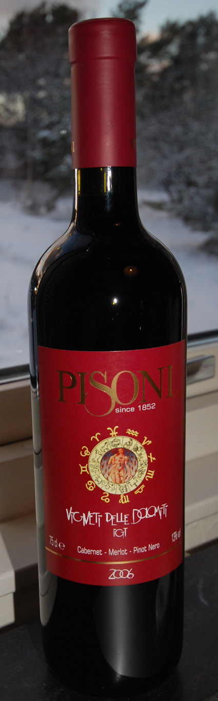 Cabernet Merlot Pinot Nero ( Pisoni ) 2006