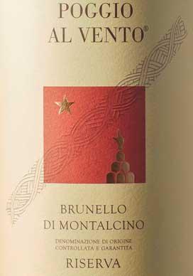 Brunello di Montalcino Riserva Poggio al Vento ( Ten. col d`orcia ) 1998