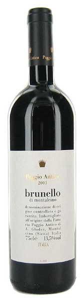 Brunello di Montalcino ( Poggio Antico ) 2001