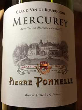 Mercurey ( Pierre Ponnelle ) 2010
